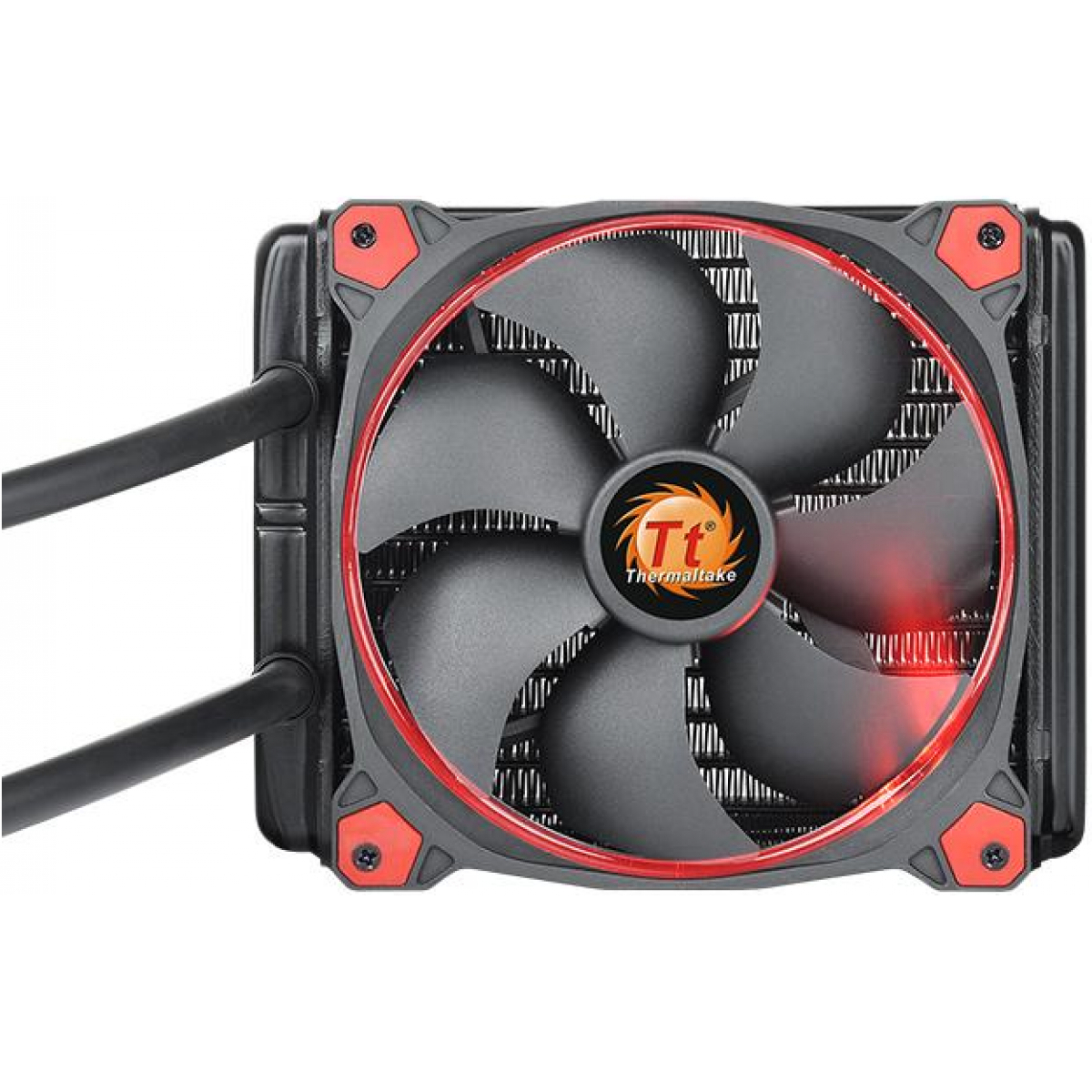Water Cooler Thermaltake Water 3.0 Riing, Red 140mm, Intel-AMD, CL-W150-PL14RE-A