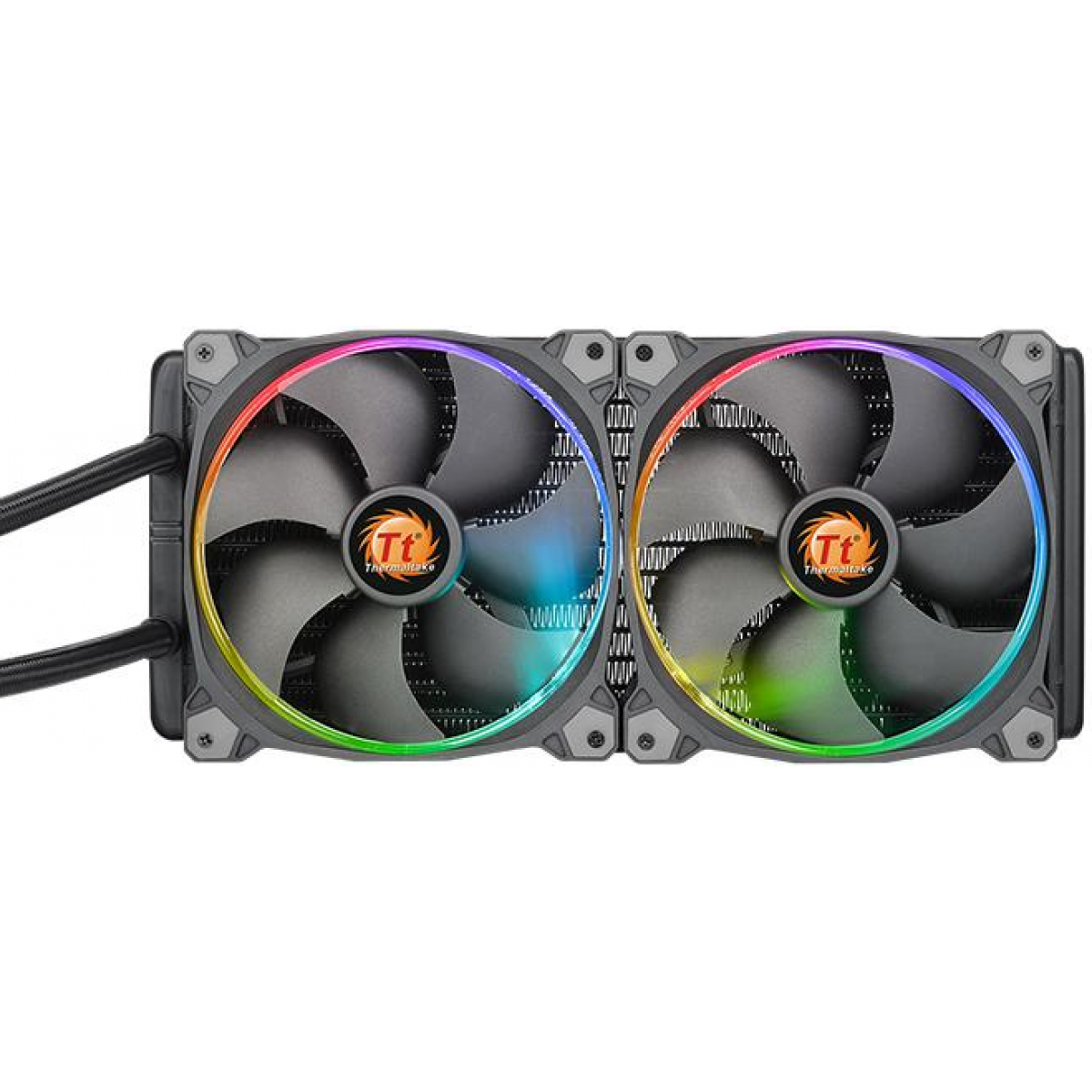 Water Cooler Thermaltake Water 3.0 Riing, RGB 280mm, Intel-AMD, CL-W138-PL14SW-A