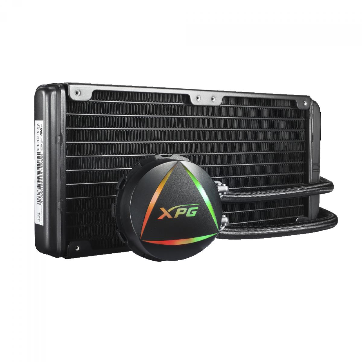 Water Cooler XPG, Levante, 240mm, RGB, Intel-AMD, 15260000