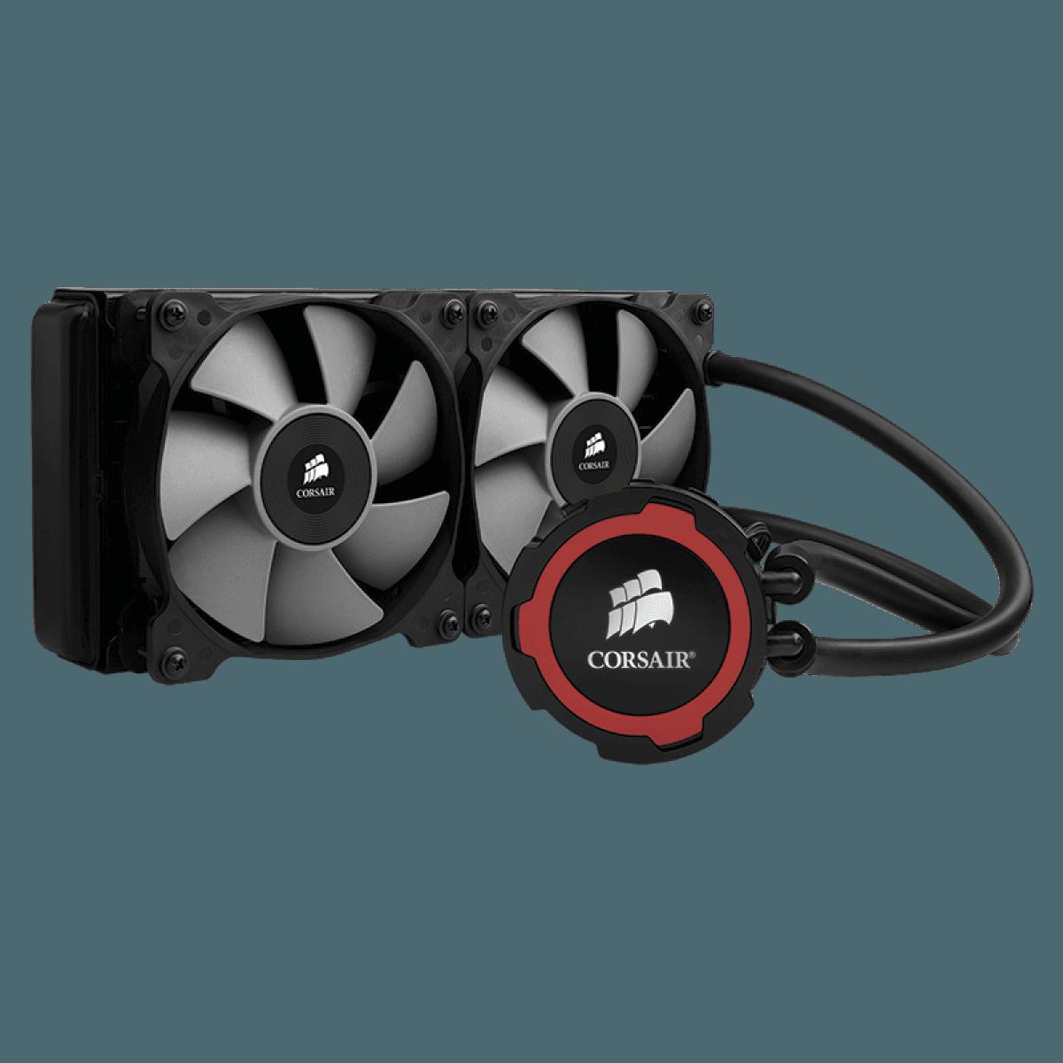 Water cooler Corsair H105, 240mm, Intel-AMD, CW-9060016-WW