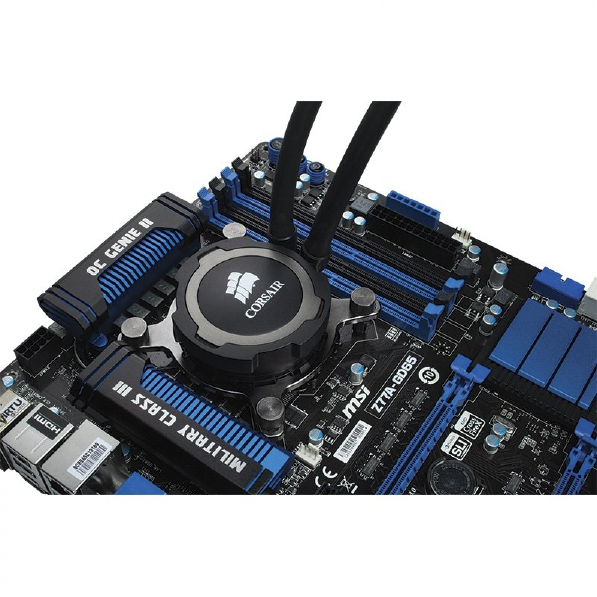 Water cooler Corsair H75, 120mm, Intel-AMD, CW-9060015-WW