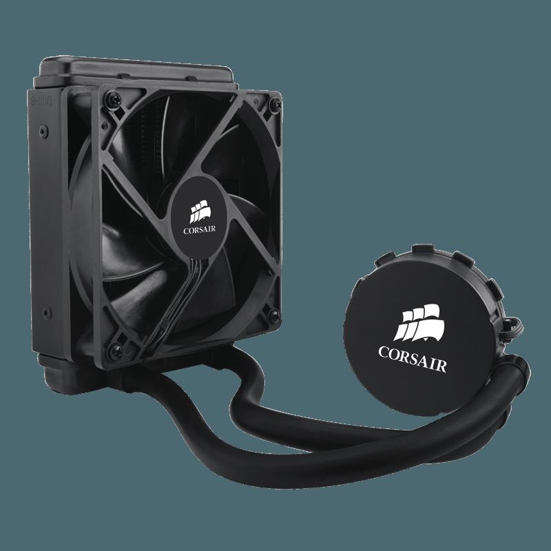 Water Cooler Corsair H55, 120mm, Intel-AMD, CW-9060010-WW