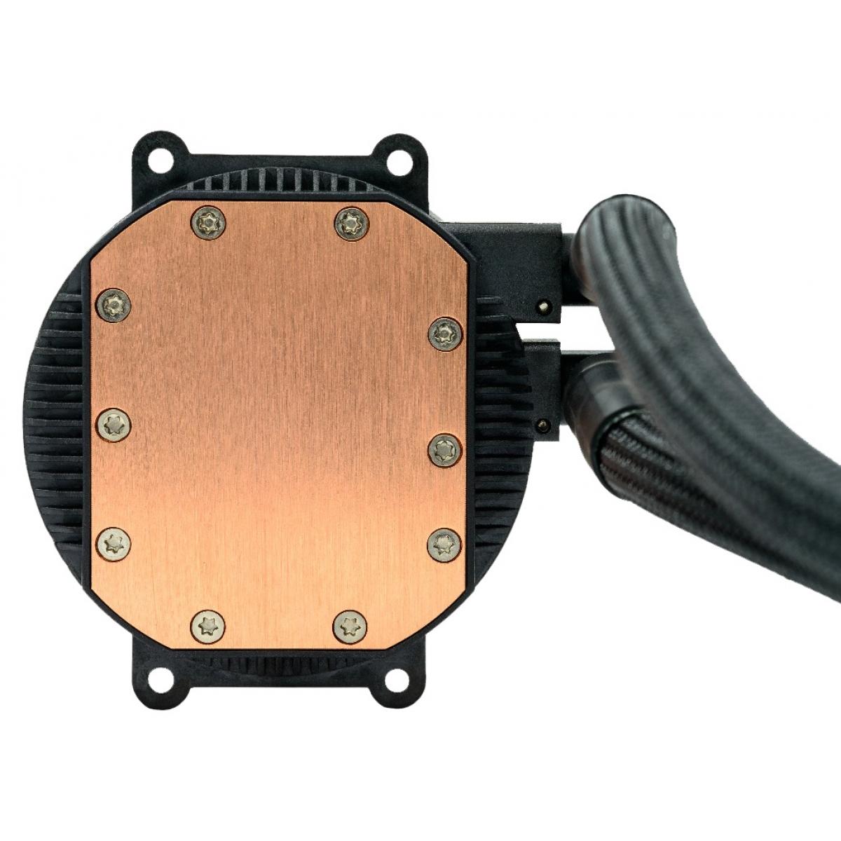 Water cooler GameMax Iceberg 240, 240mm, Intel-AMD