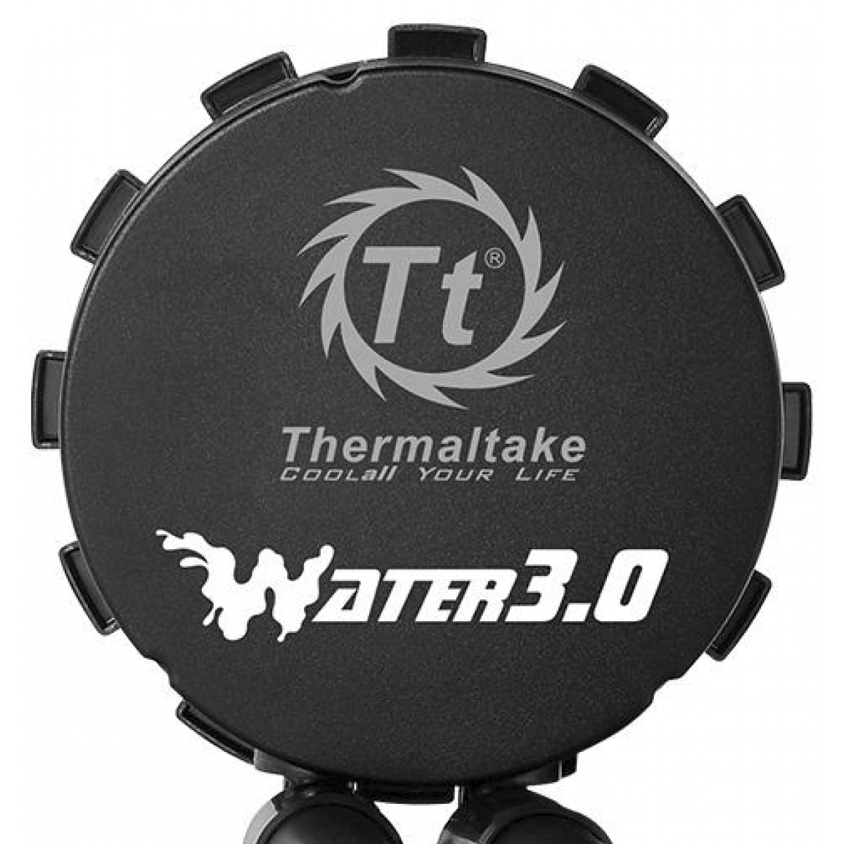 Water cooler Thermaltake 3.0 Riing, RGB 360mm, Intel-AMD, CL-W108-PL12SW-A