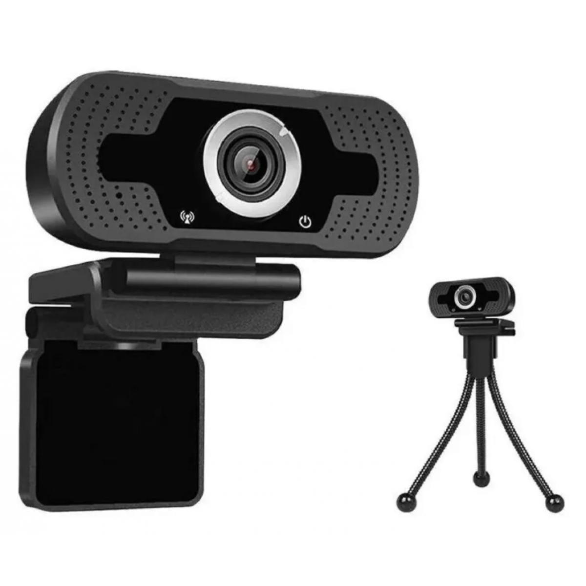 Webcam Loosafe 5MP Full HD 1080p, Microfone, C/ Tripé, LS-F36-1080P