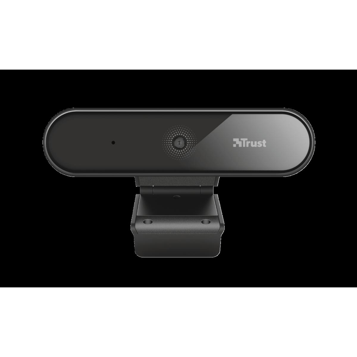 Webcam Trust, Tyro, Full HD, 1080p, Tripé, T23637
