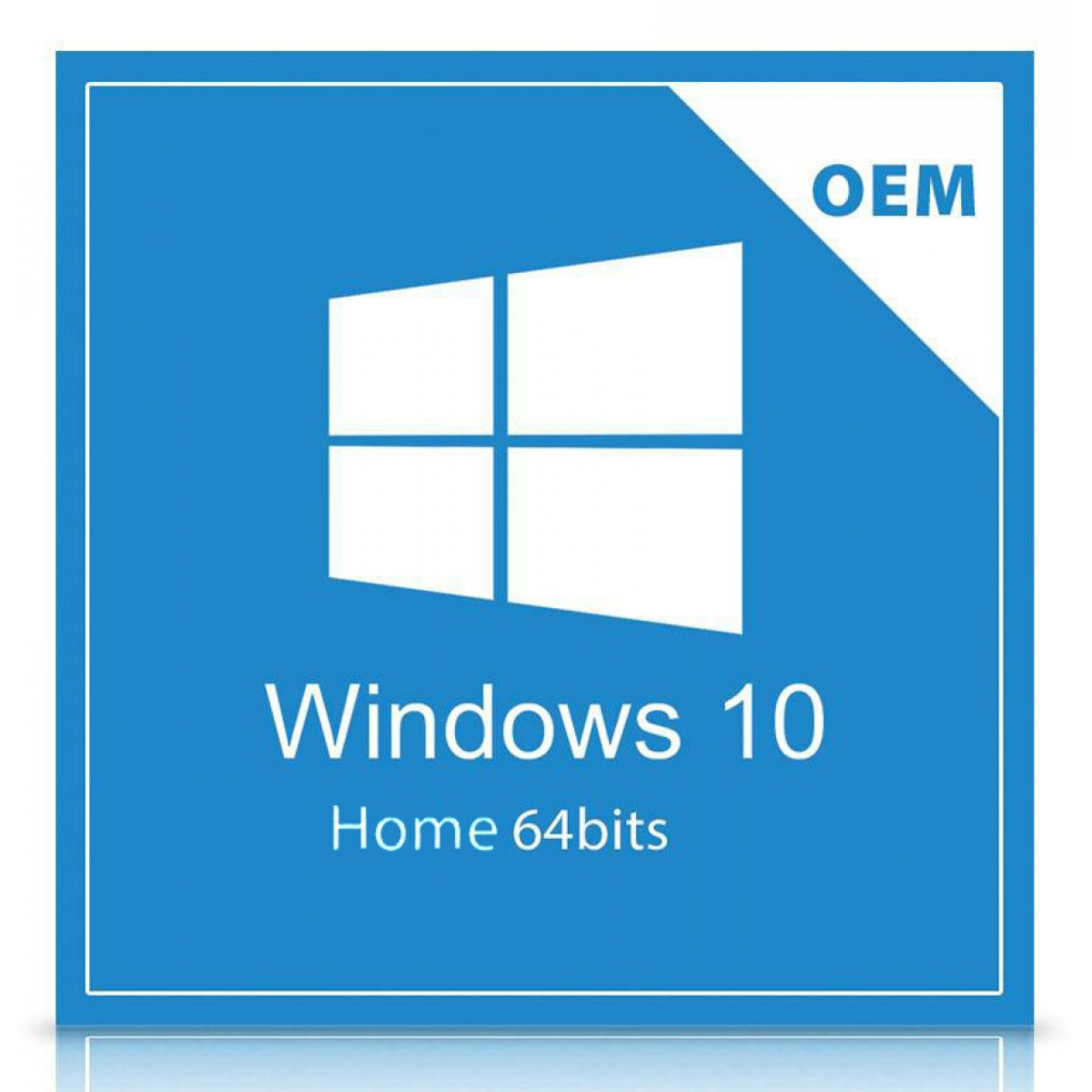 Windows 10 Home 64Bits Português Brasil OEM - KW9-00154