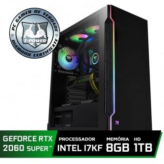Pc Gamer Super Tera Edition Intel i7 9700KF / Geforce RTX 2060 Super / DDR4 8GB / HD 1TB / 600W