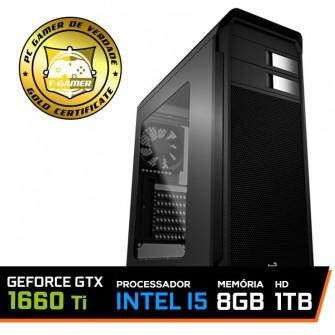 Pc Gamer T-soldier Lvl-3 Intel Core i5 9400F / GeForce GTX 1660 Ti 6GB / DDR4 8GB / HD 1TB / 500W