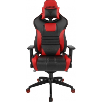 Cadeira Gamer Gamdias Achilles RGB M1A, Black-Red, GD-ACHILLESM1ALBR
