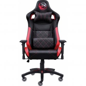 Cadeira Gamer PCYes Mad Racer V10, Black-Red, MADV10VMGL