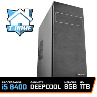 Computador T-home Intel I5 8400/ 8gb Ddr4 / Hd 1tb