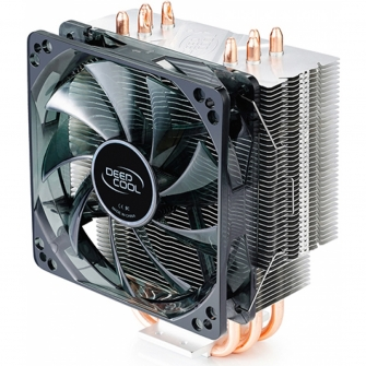 Cooler para Processador DeepCool Gammaxx 400, LED Red 120mm, Intel-AMD, DP-MCH4-GMX400RD