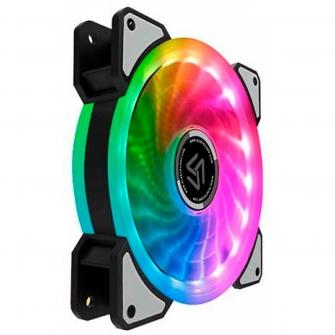 Cooler Para Gabinete Alseye D-Ringer Rainbow 120MM DR-120-RR