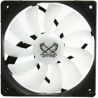 Cooler para Gabinete Scythe Kaze Flex 120 RGB PWM, 120mm 1.200 RPM, SU1225FD12MR-RHP