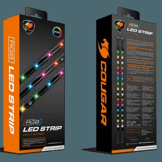 Fita de LED Cougar RGB Strip, 450mm, 3MLEDSTR.0001