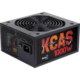 Fonte Aerocool KCAS 1000W, 80 Plus Bronze, PFC Ativo, Semi Modular