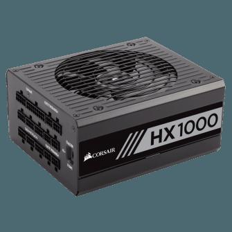 Fonte Corsair 1000W 80 Plus Platinum Modular PFC Ativo HX1000 CP-9020139-WW