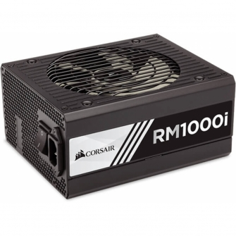 Fonte Corsair RM1000i 1000W, 80 Plus Gold, PFC Ativo, Full Modular, CP-9020084-WW