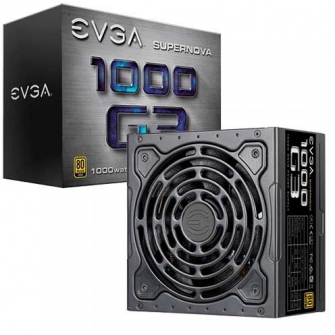 Fonte EVGA Supernova 1000 G3 1000W, 80 Plus Gold, PFC Ativo, Full Modular, 220-G3-1000-X1