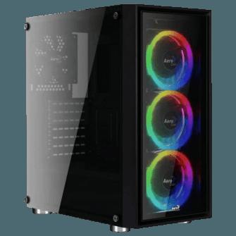 Gabinete Gamer Aerocool Quartz Revo RGB, Com 3 Fans
