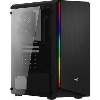 Gabinete Gamer Aerocool Rift RGB, Mid Tower, Com 1 Fan