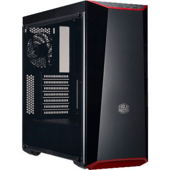 Gabinete Gamer Cooler Master Masterbox Lite 5, Mid Tower, Com 1 Fan