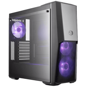 Gabinete Gamer Cooler Master MasterBox MB500, Mid Tower, Com 3 Fans RGB