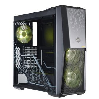 Gabinete Gamer Cooler Master Masterbox MB500 Tuf Gaming, Mid Tower, Com 3 Fans RGB