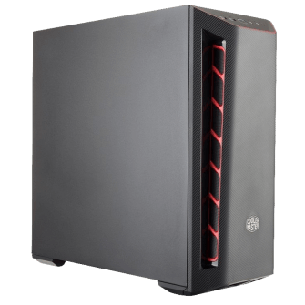 Gabinete Gamer Cooler Master Masterbox MB501L Red, Mid Tower, Com 1 Fan