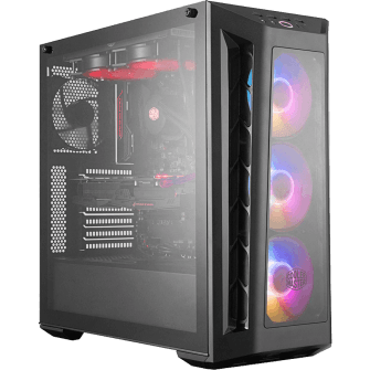 Gabinete Gamer Cooler Master MasterBox MB530P, Mid Tower, Com 4 Fans