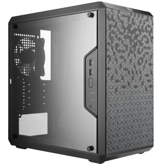 Gabinete Gamer Cooler Master Masterbox Q300L, Mini Tower, Com 1 Fan