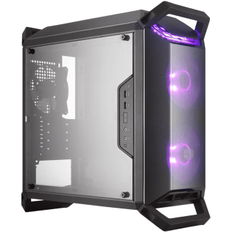 Gabinete Gamer Cooler Master Masterbox Q300P, Mid Tower, Com 3 Fans