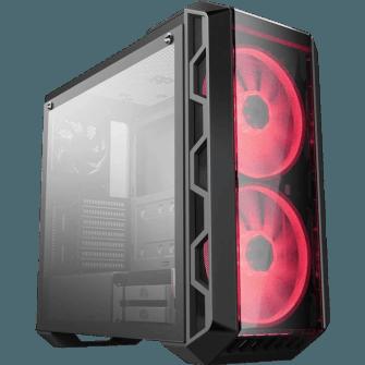 Gabinete Gamer Cooler Master Mastercase H500 RGB, Mid Tower, Com 3 Fans
