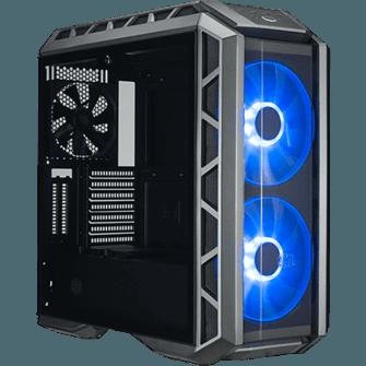 Gabinete Gamer Cooler Master MasterCase H500P RGB, Mid Power, Com 3 Fans