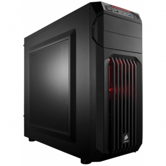 Gabinete Gamer Corsair Carbide Spec-01, Mid Tower, Com 1 Fan, Lateral em Acrílico, Black, S-Fonte, CC-9011050-WW