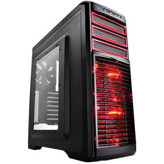 Gabinete Gamer DeepCool Kendomen RD Mid-Tower Com 5 Fans