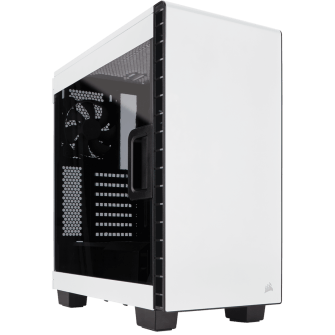Gabinete Gamer Corsair Carbide Clear 400C, Mid Tower, Com 2 Fans