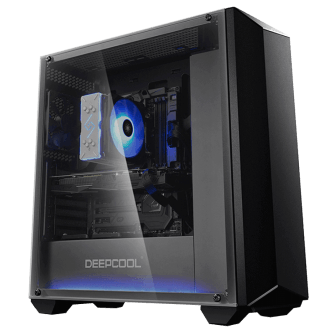 Gabinete Gamer DeepCool Earlkase RGB, Mid Tower, Com 2 Fans