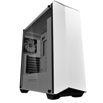 Gabinete Gamer DeepCool Earlkase RGB WH, Mid Tower, Com 2 Fans
