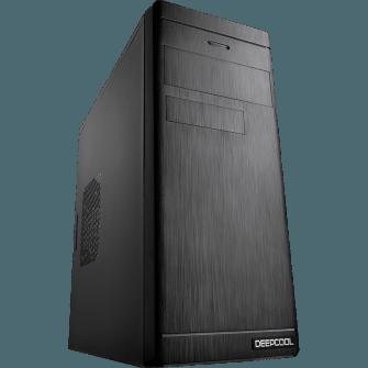 Gabinete Gamer DeepCool Wave V2, Mid Tower, Black