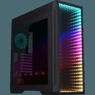 Gabinete Gamer GameMax Infinit M908 GGM RGB, Mid Tower, Com 3 Fans