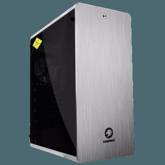 Gabinete Gamer Gamemax Raider XT Full Tower Com 3 Fans RGB Vidro Temperado Black S-Fonte