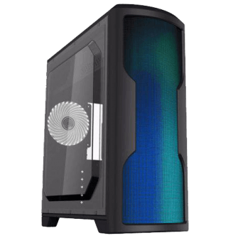 Gabinete Gamer Gamemax Wave G562W Mid Tower Com 1 Fan White