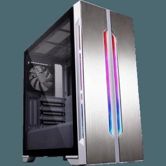 Gabinete Gamer Lian Li Lancool One Digital RGB Mid Tower Vidro Temperado White S-Fonte