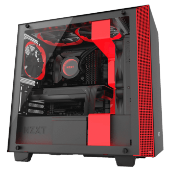 Gabinete Gamer NZXT H400I, Mid Tower, Com 2 Fans