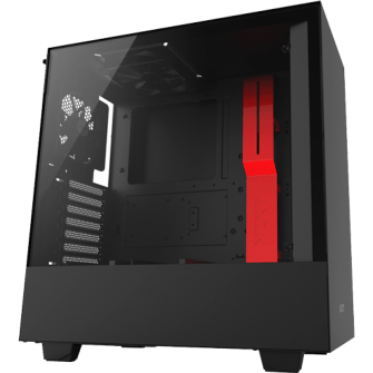 Gabinete Gamer NZXT H500, Mid Tower, Com 2 Fans