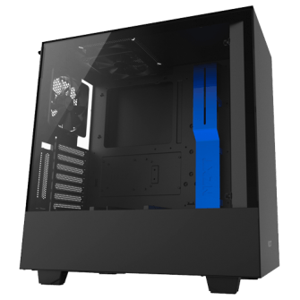 Gabinete Gamer NZXT H500I, Mid Tower, Com 2 Fans