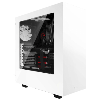 Gabinete Gamer NZXT S340, Mid Tower, Com 2 Fans