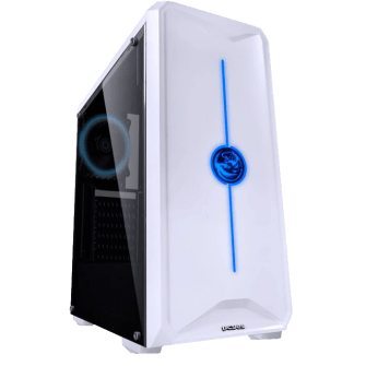Gabinete Gamer PCyes Nova, Mid Tower, Lateral de Acrílico, Com 1 Fan